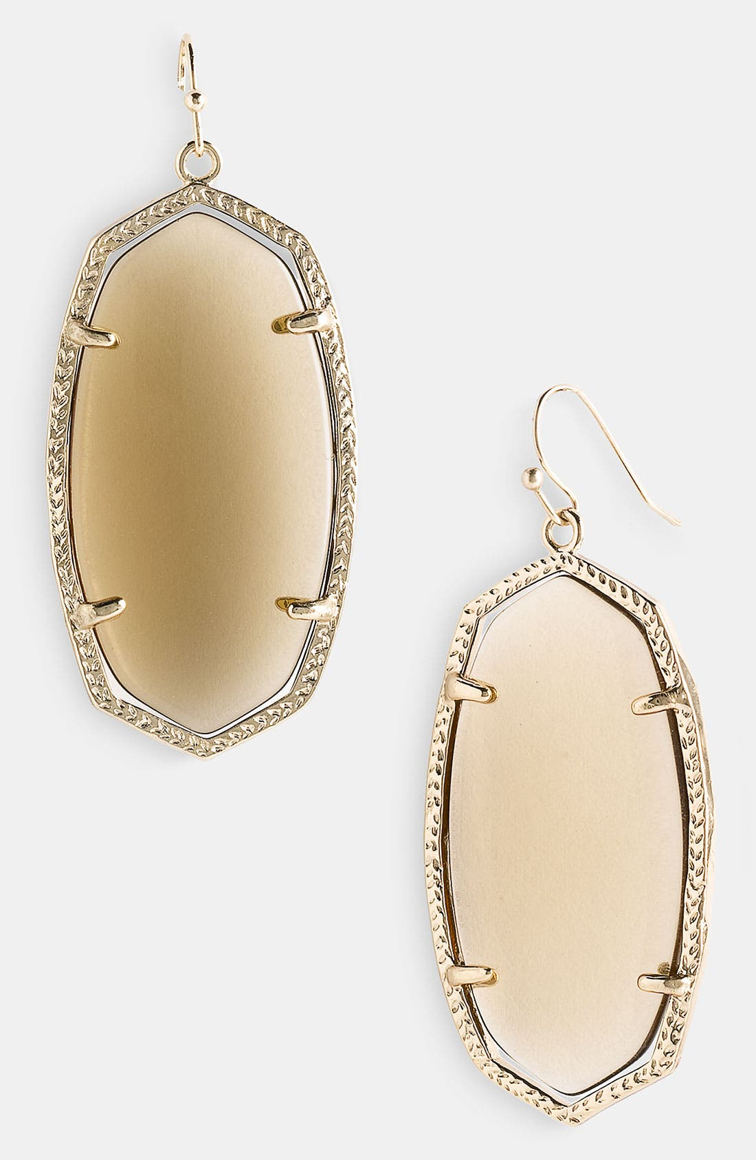 ,                             'Danielle' Oval Statement Earrings,                             Main thumbnail 18, color,                             250