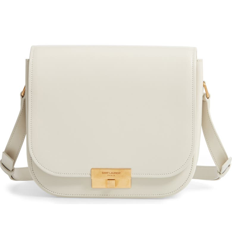 SAINT LAURENT Betty Shoulder Bag, Main, color, CREMASOFT