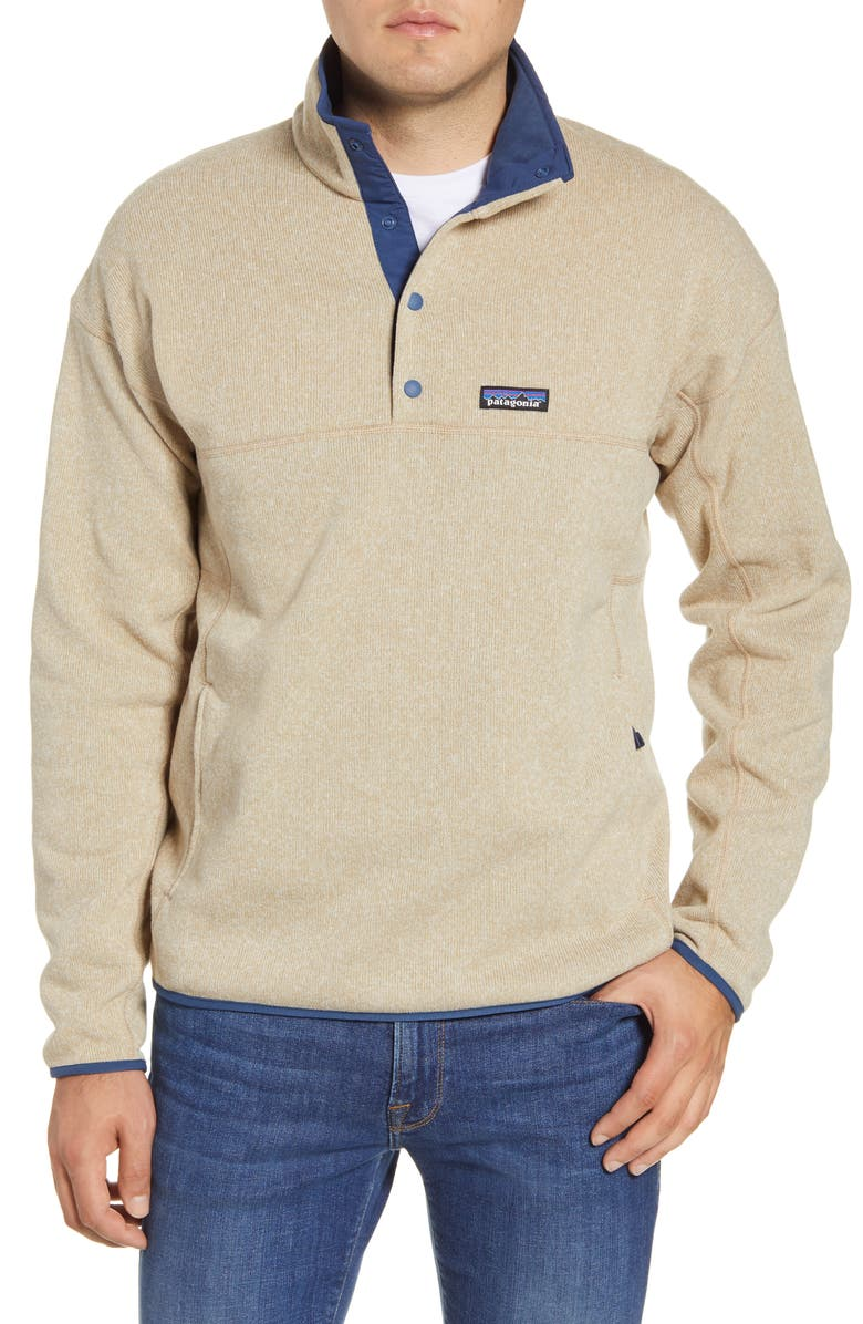 PATAGONIA Lightweight Better Sweater Pullover, Main, color, EL CAP KHAKI
