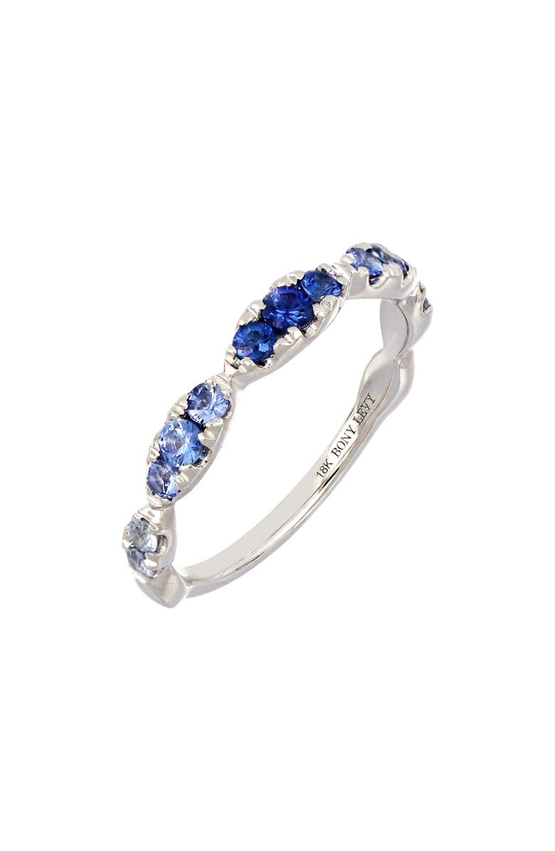 BONY LEVY Sapphire Stacking Ring, Main, color, 711