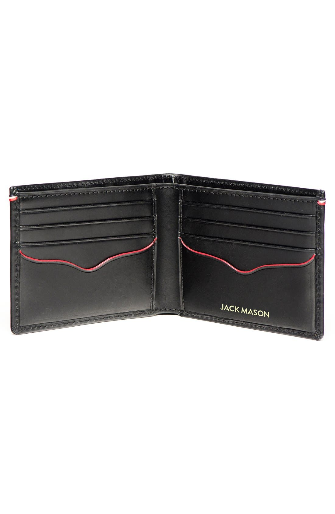 ,                             Vacchetta Lux Leather Bifold Wallet,                             Alternate thumbnail 3, color,                             001