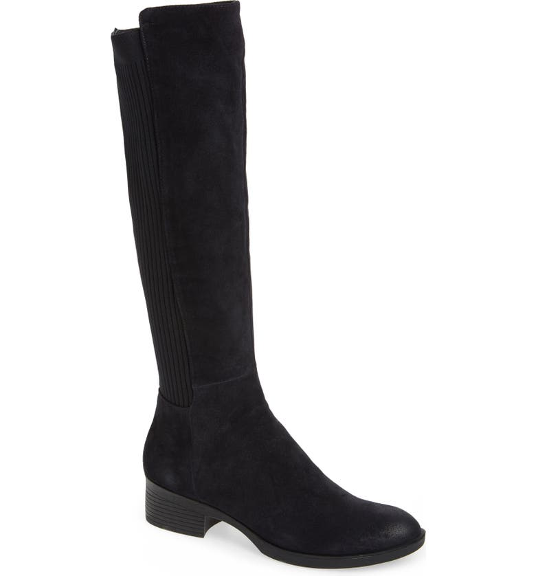 KENNETH COLE NEW YORK Levon Knee High Boot, Main, color, NAVY SUEDE