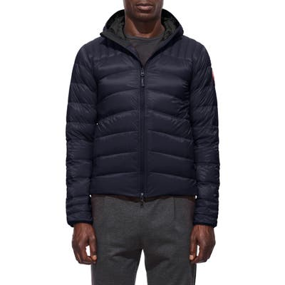 Canada Goose Brookvale Slim Fit Hooded Down Jacket, Blue