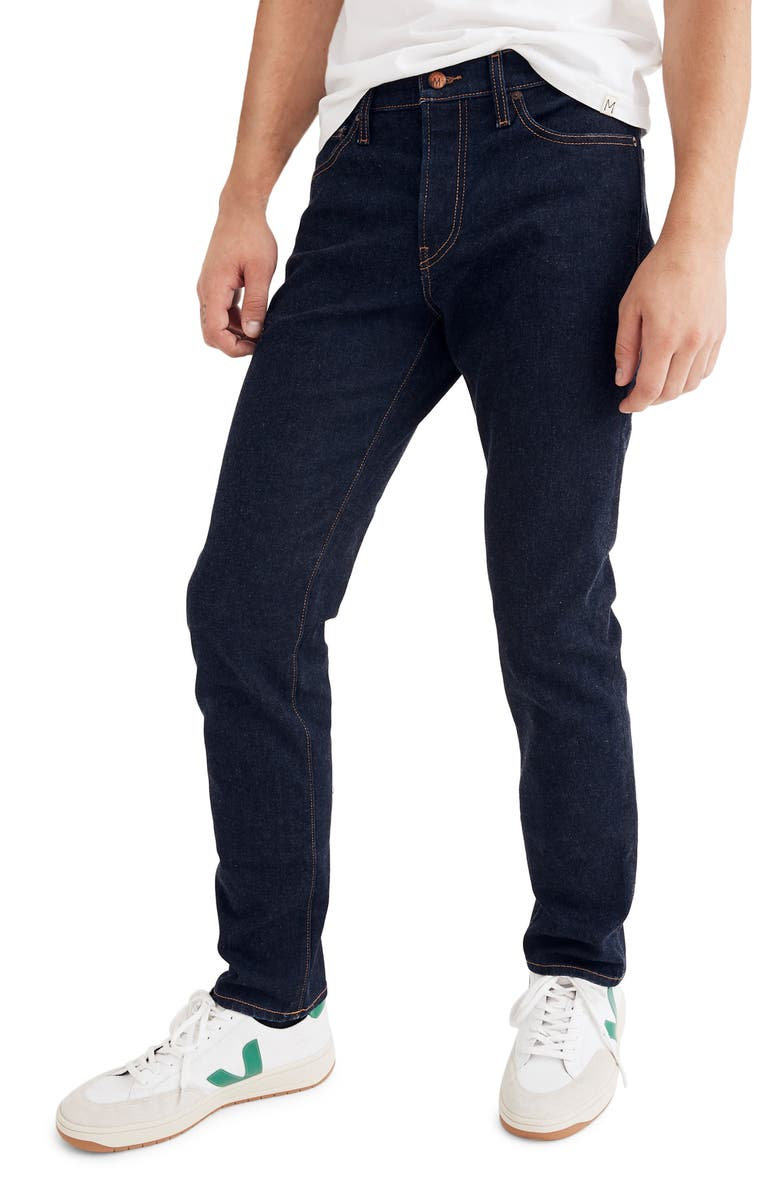 MADEWELL Slim Fit Jeans, Main, color, RINSE