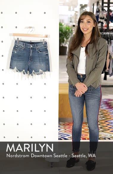 The Rascal High Waist Slit Chew Shorts, sales video thumbnail
