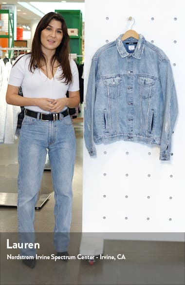 Oh G Oversize Denim Jacket, sales video thumbnail