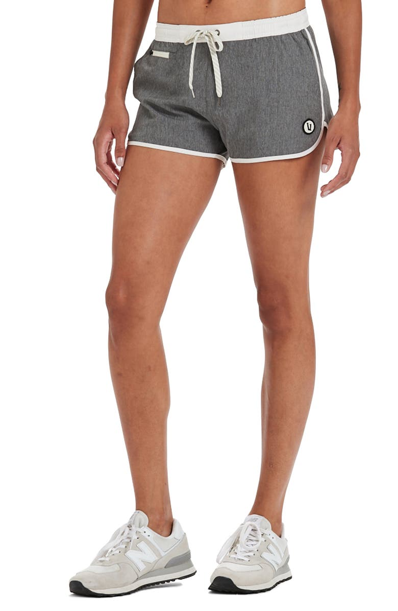 VUORI Tavi Shorts, Main, color, GREY LINEN TEXTURE