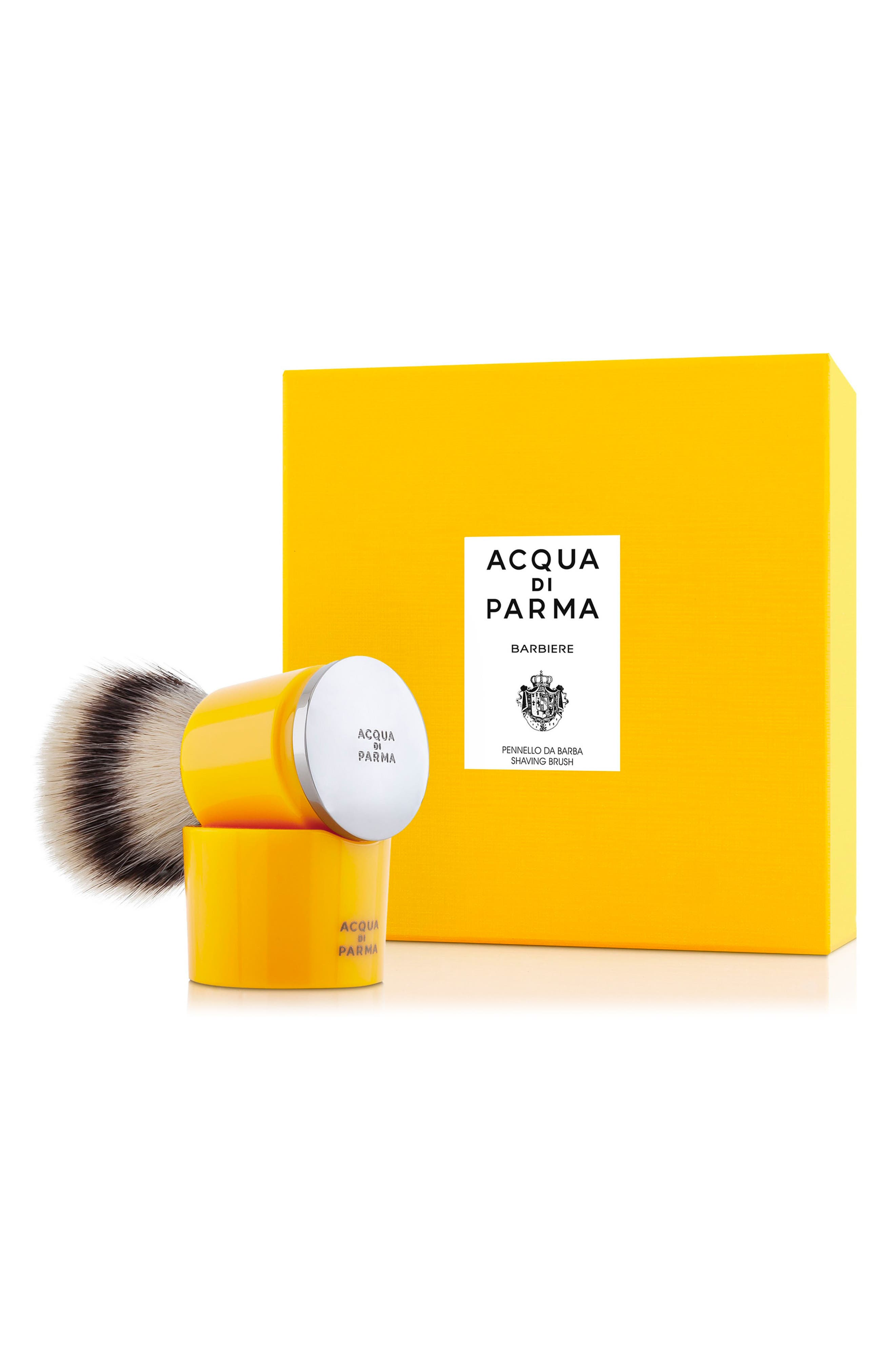 Barbiere Yellow Shaving Brush, Main, color, NO COLOR