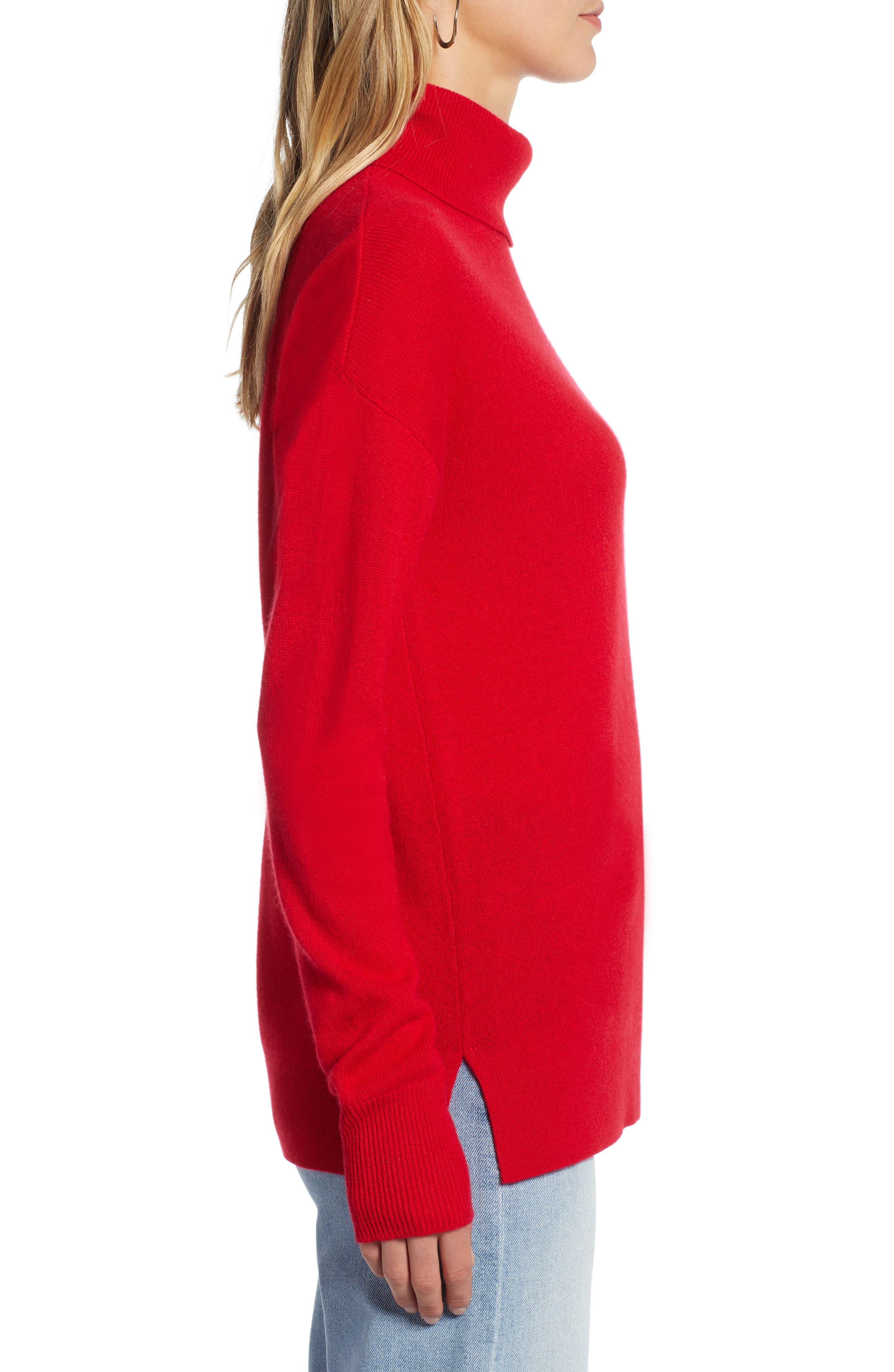 ,                             Cashmere Turtleneck Sweater,                             Alternate thumbnail 33, color,                             610