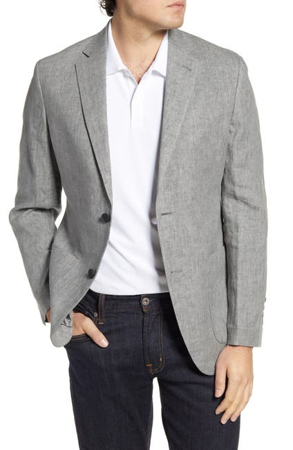 Image of NORDSTROM MEN'S SHOP Regular Fit Linen Sport Coat