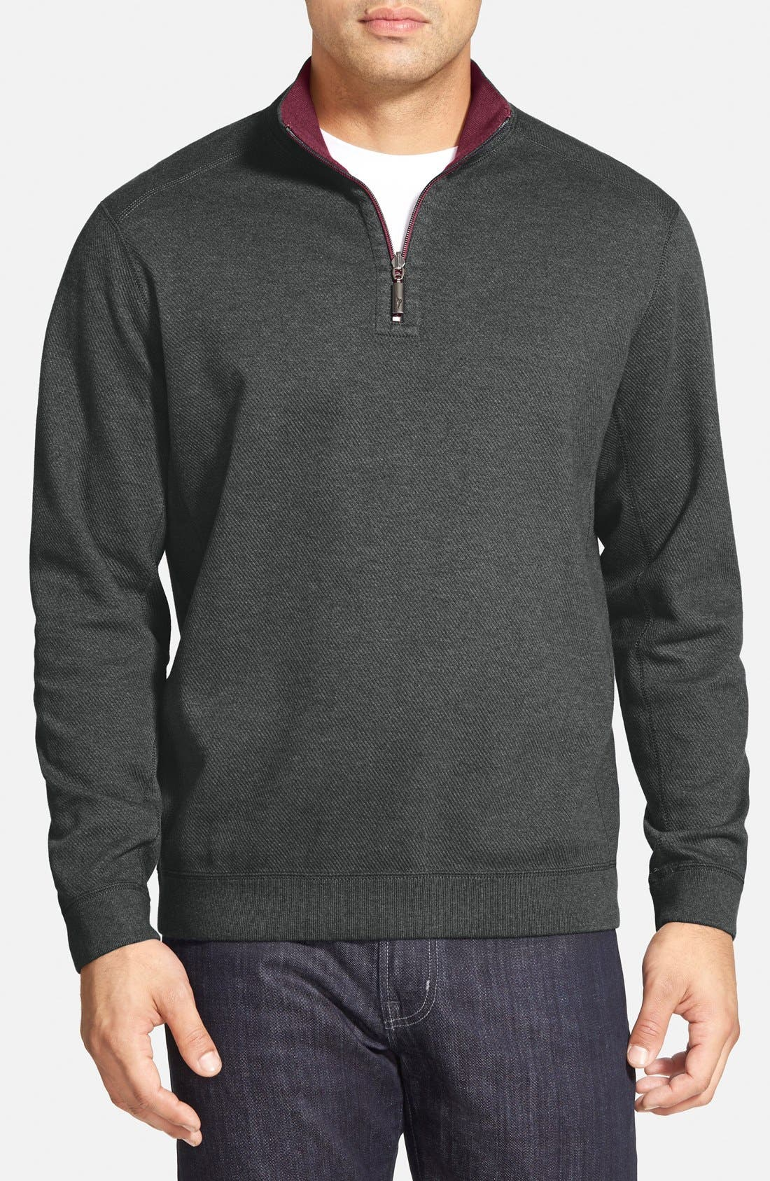 ,                             'Flip Side' Reversible Quarter Zip Pullover,                             Main thumbnail 23, color,                             053