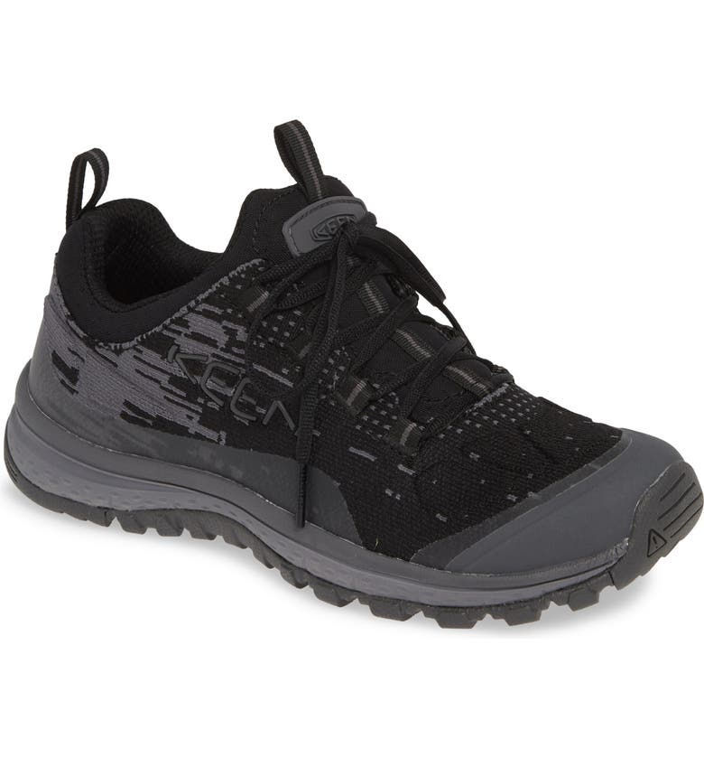 KEEN Terradora EVO Hiking Sneaker, Main, color, BLACK/ MAGNET FABRIC