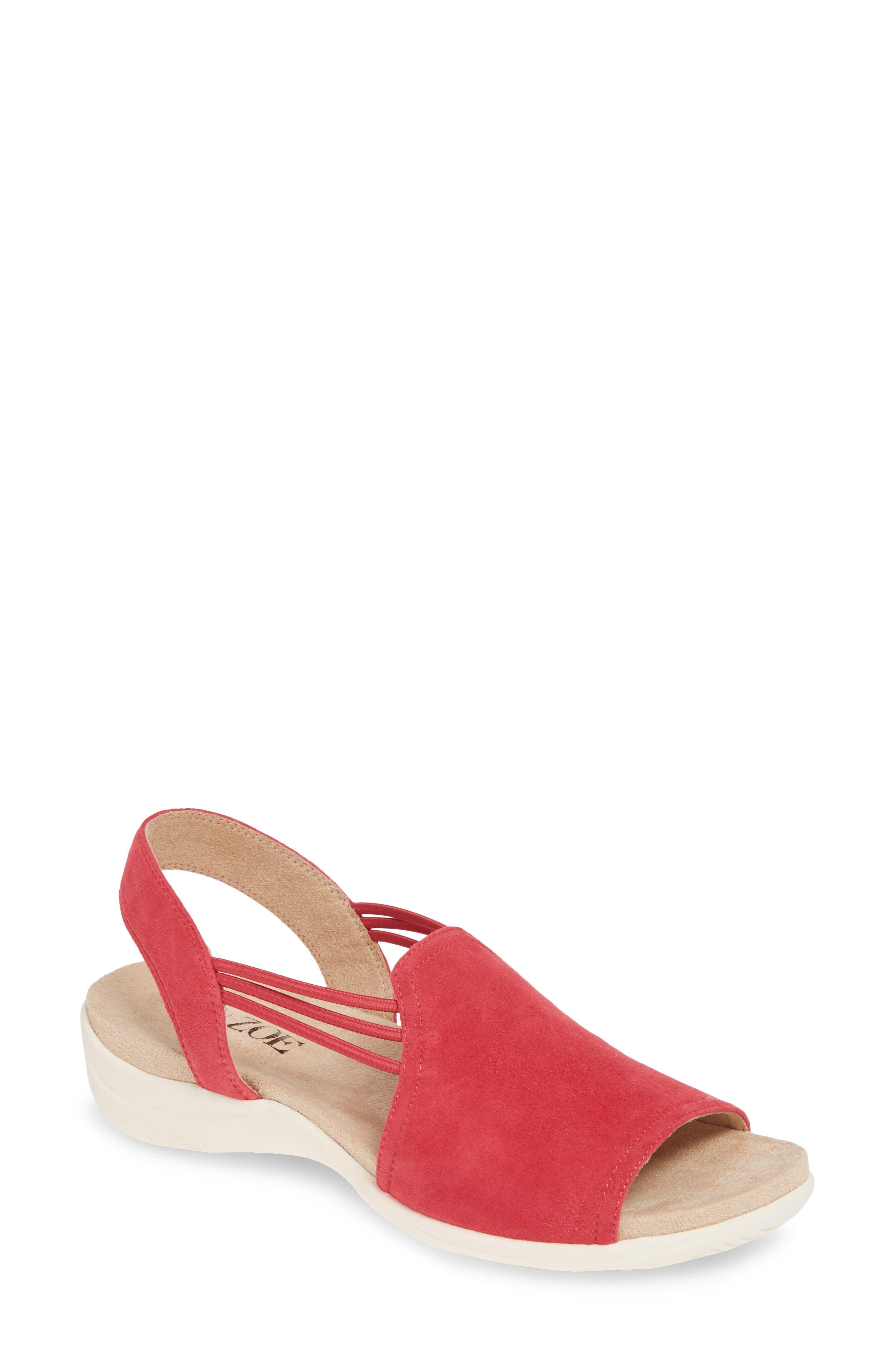 Nic+Zoe Dory Slingback Sandal, Red
