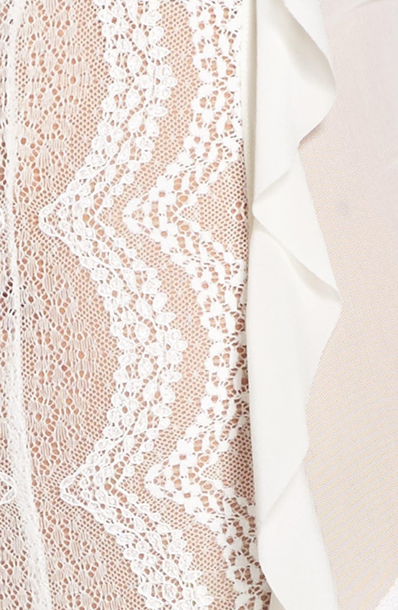 ,                             Eva Lace Ruffle Bodysuit,                             Alternate thumbnail 11, color,                             900