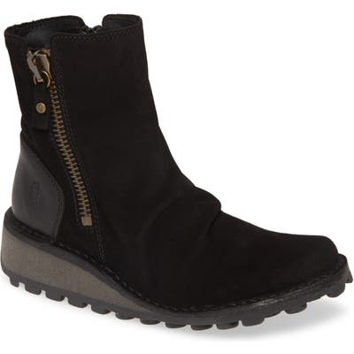 Fly London Mong Boot - Black