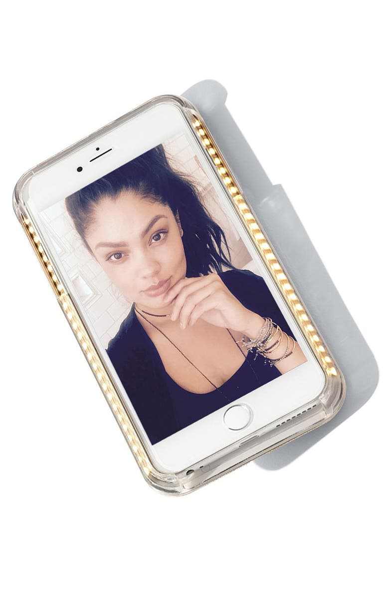 LUMEE Lighted iPhone Case, Main, color, 400