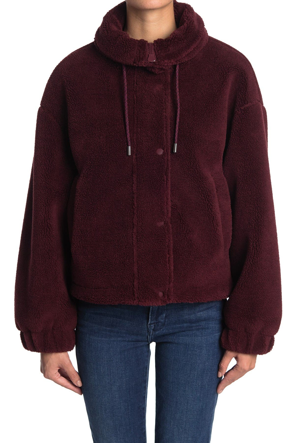 Elodie A-Line Shearling Jacket