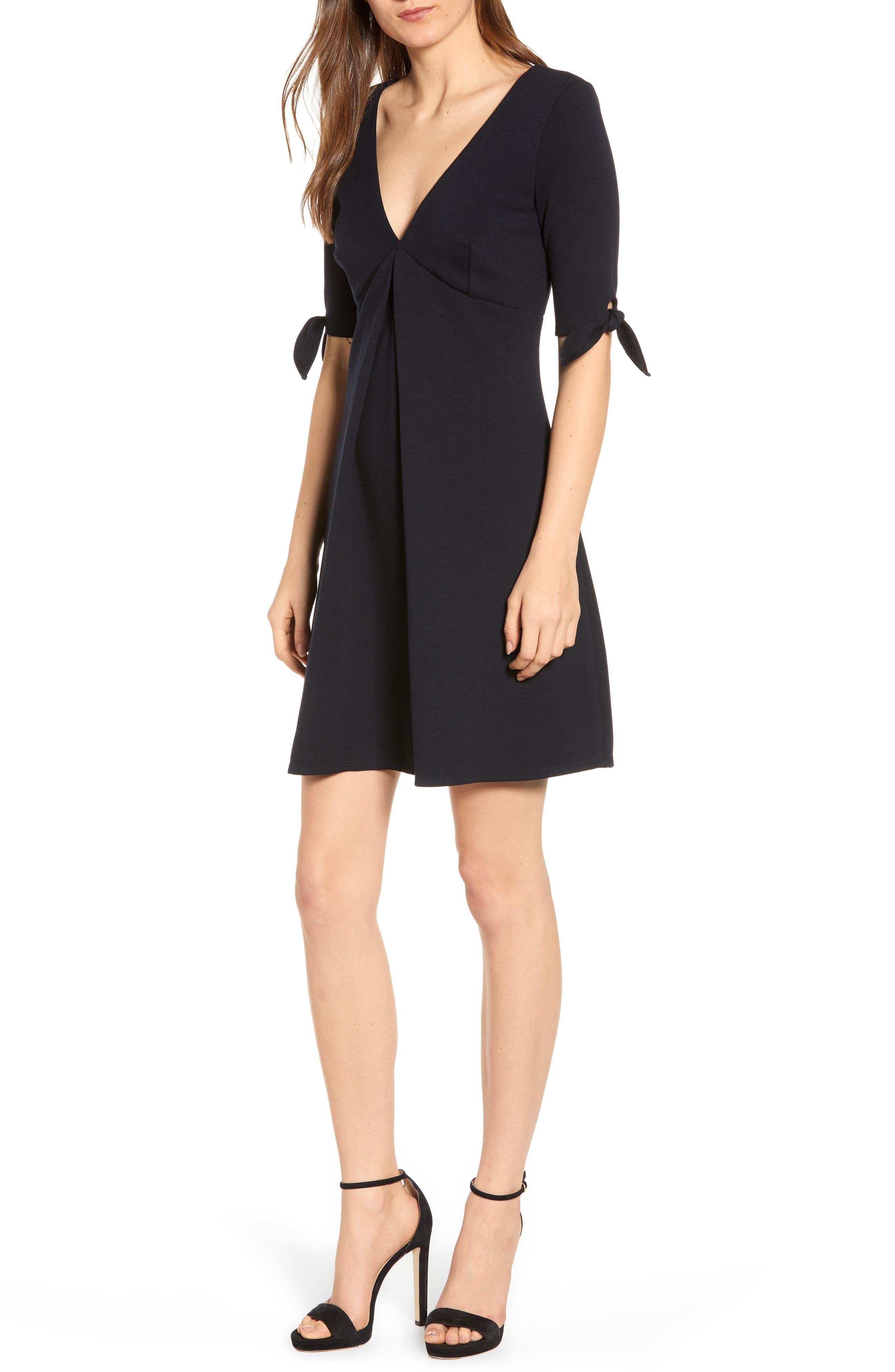 Bailey 44 Quarterdeck Fit & Flare Dress, Black