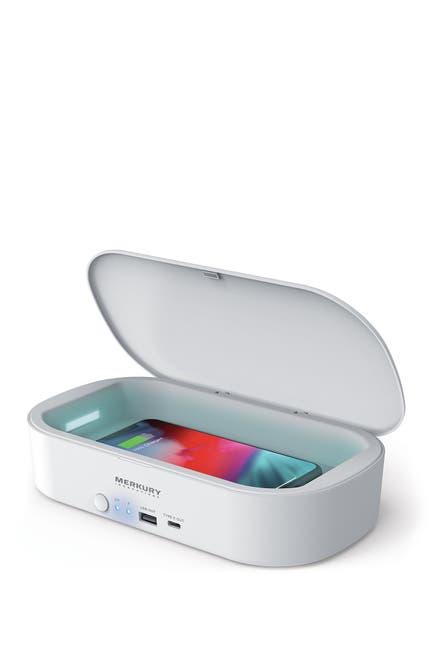 Image of Merkury Innovations Neutro UV Phone Sterilizer & Wireless Charger - White