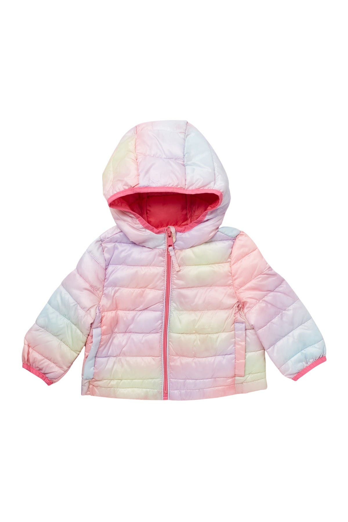 Image of Urban Republic Packable Quilted Zip Jacket