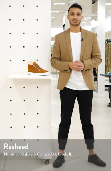 x Lottie Moss Faux Shearling High Top Sneaker, sales video thumbnail