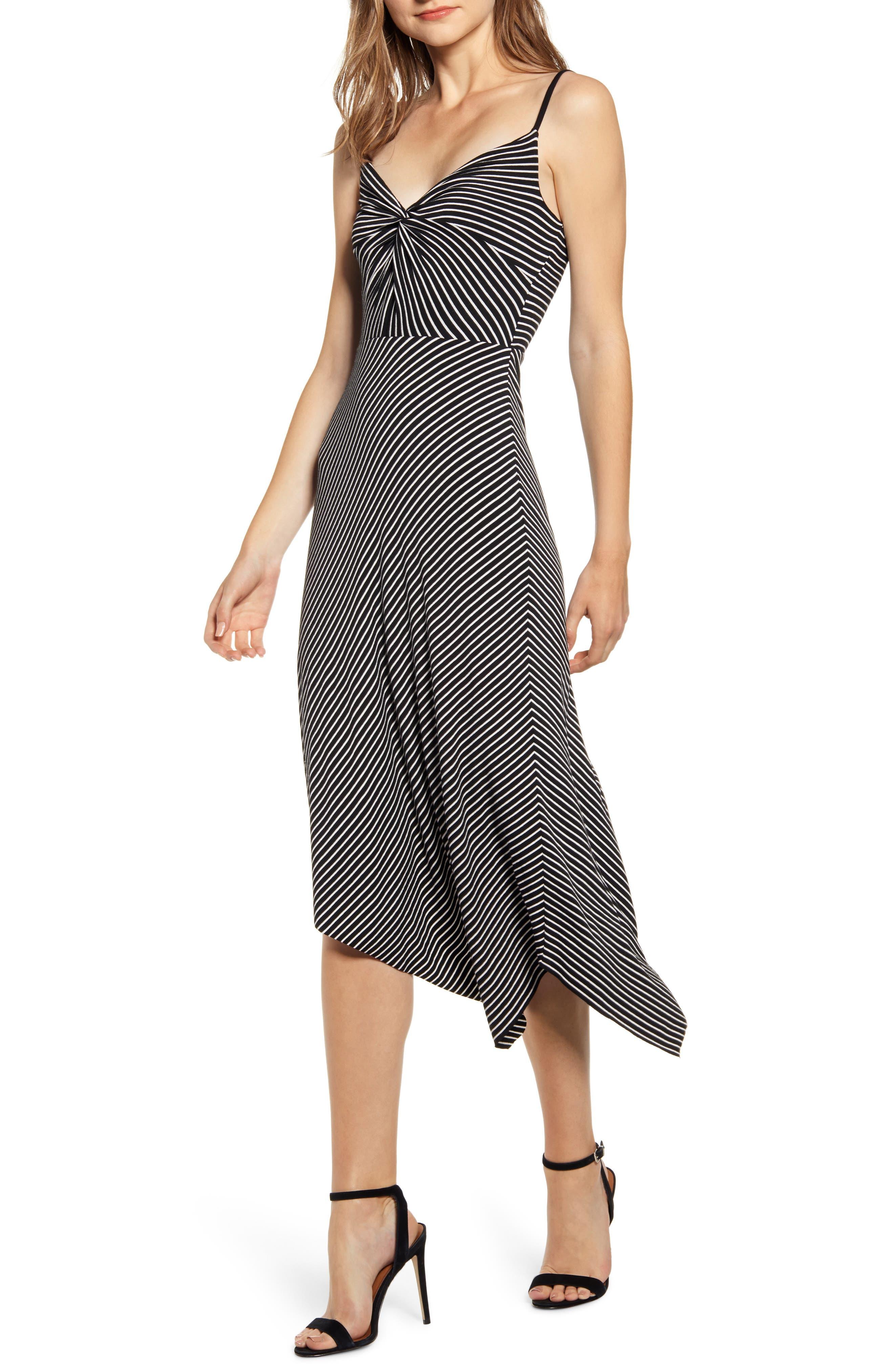 Bailey 44 Paola Asymmetrical Dress, Black