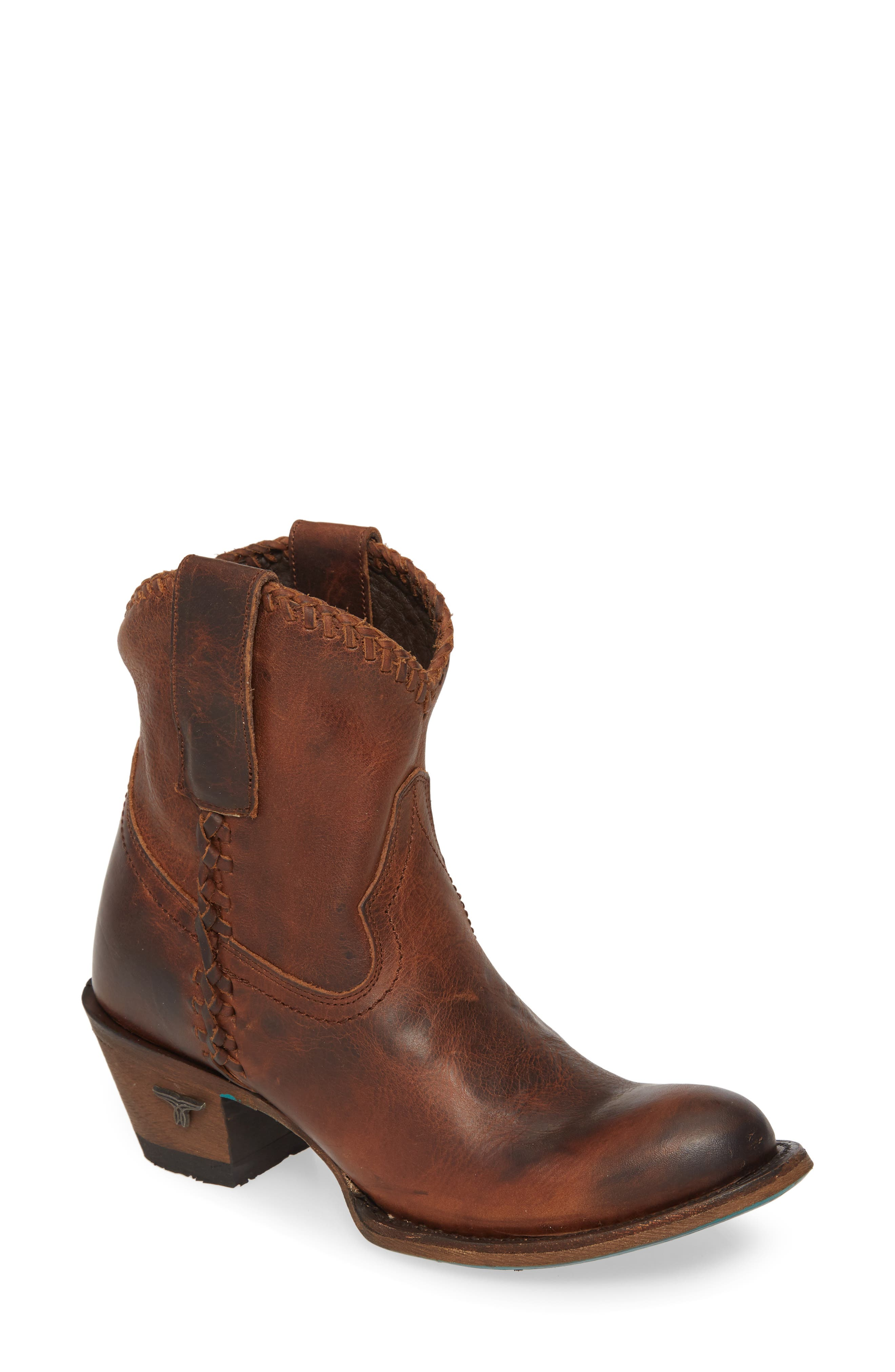 Plain Jane Western Boot