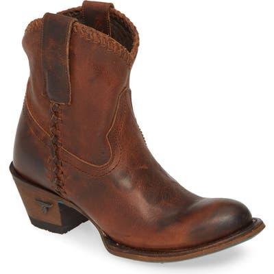 Lane Boots Plain Jane Western Boot, Brown