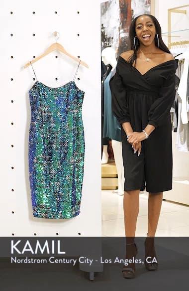Sequin Tweed Dress, sales video thumbnail