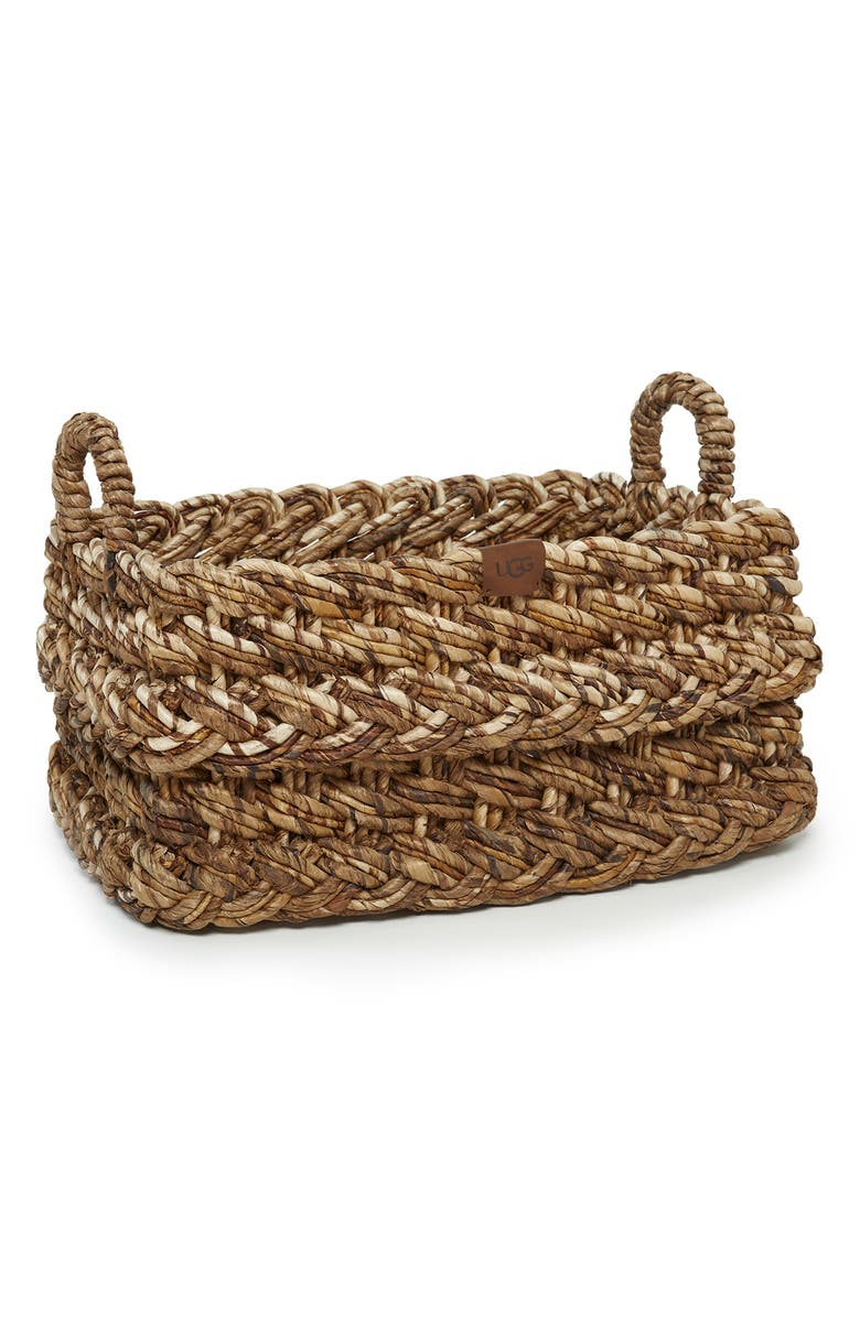 UGG<SUP>®</SUP> Peppermint Grove Basket, Main, color, NATURAL