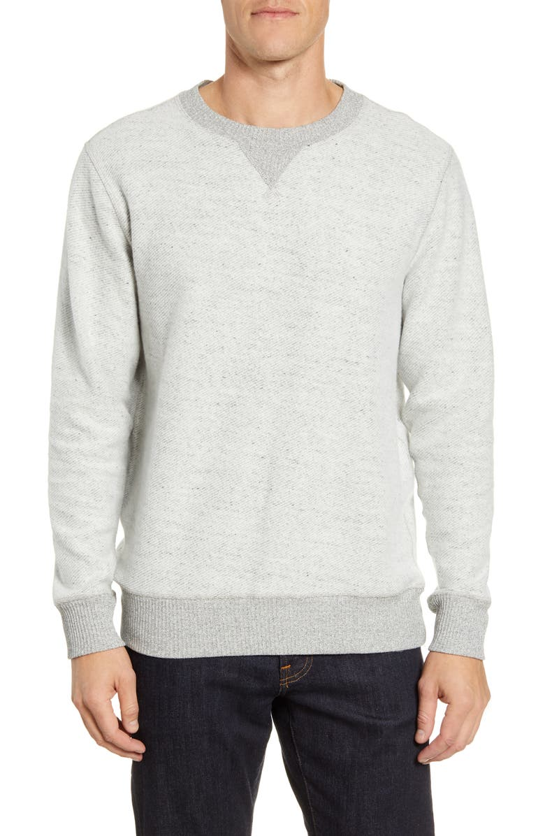 RAILS Kennedy Crewneck Sweater, Main, color, HEATHER GREY