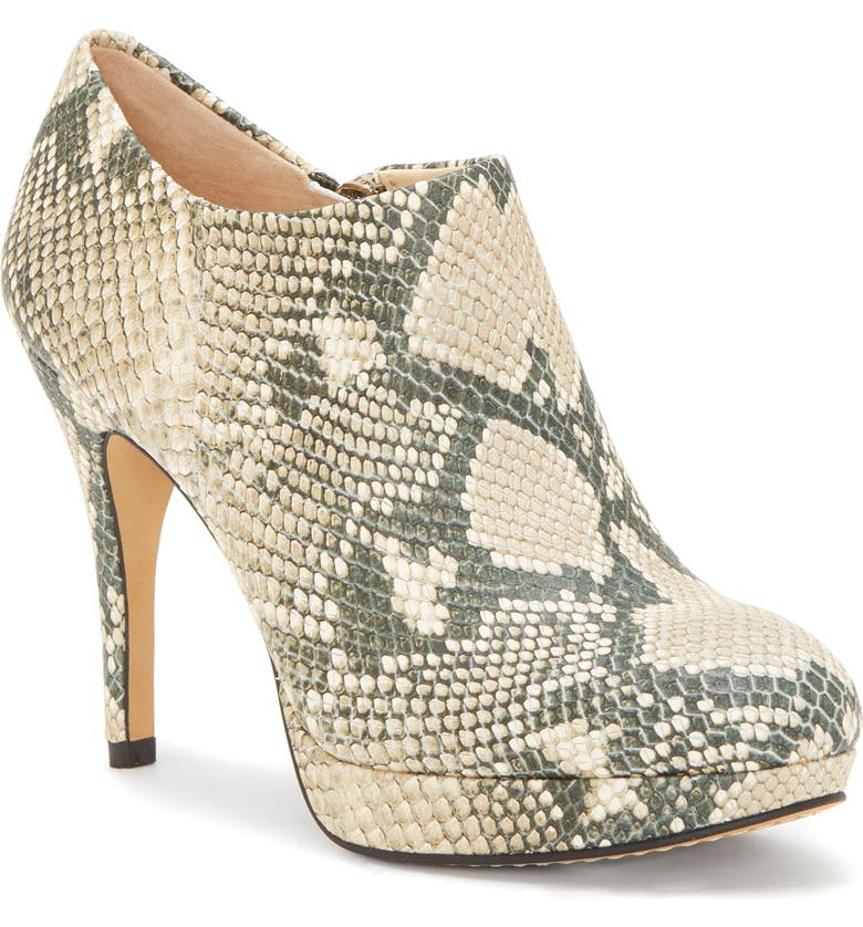 VINCE CAMUTO 'Elvin' Bootie, Main, color, NATURAL LEATHER