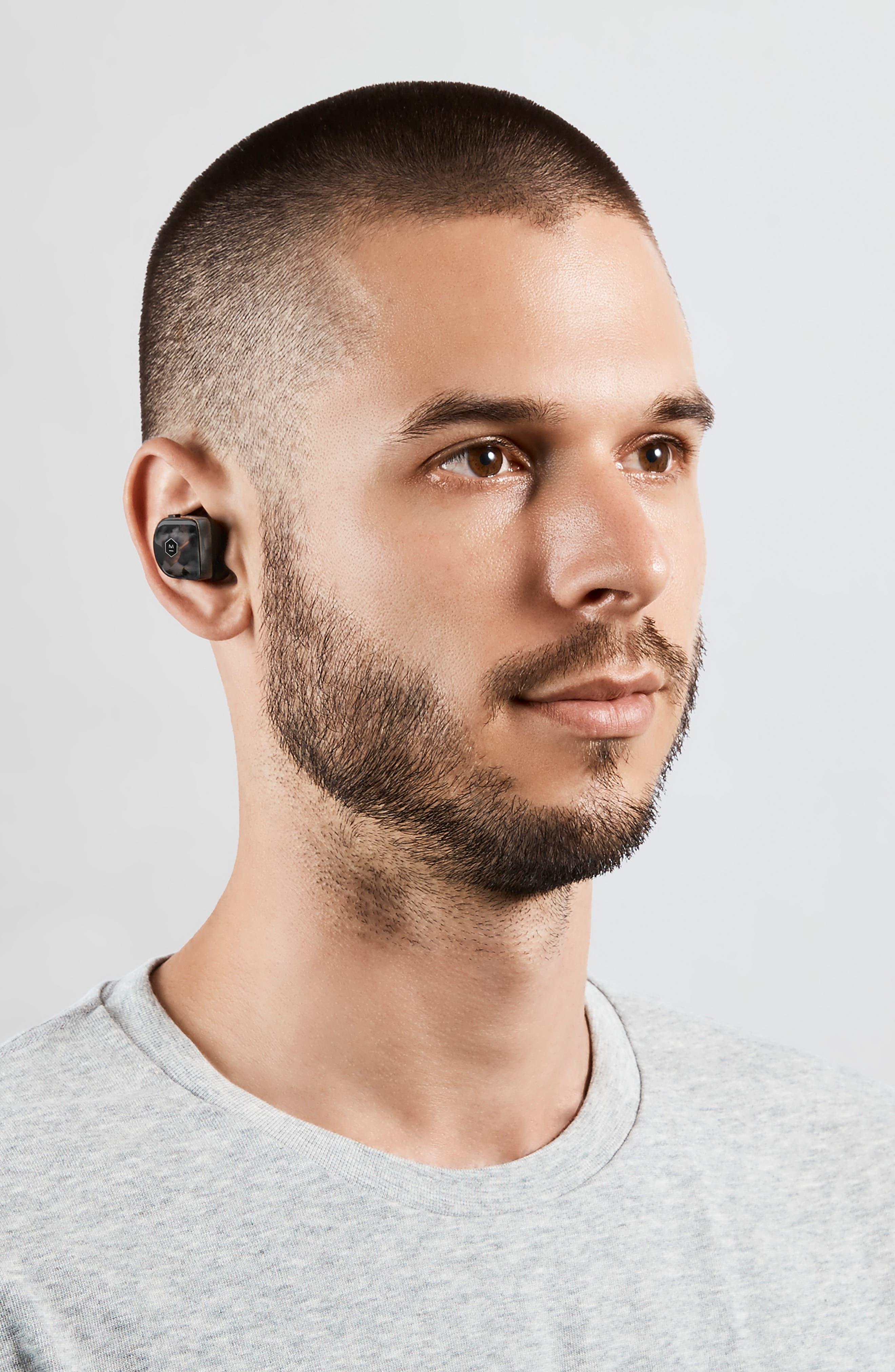 ,                             MW07 True Wireless Headphones,                             Alternate thumbnail 7, color,                             PIANO BLACK