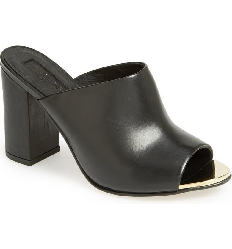 TOPSHOP 'Glacial' Mule Sandal, Main, color, 001