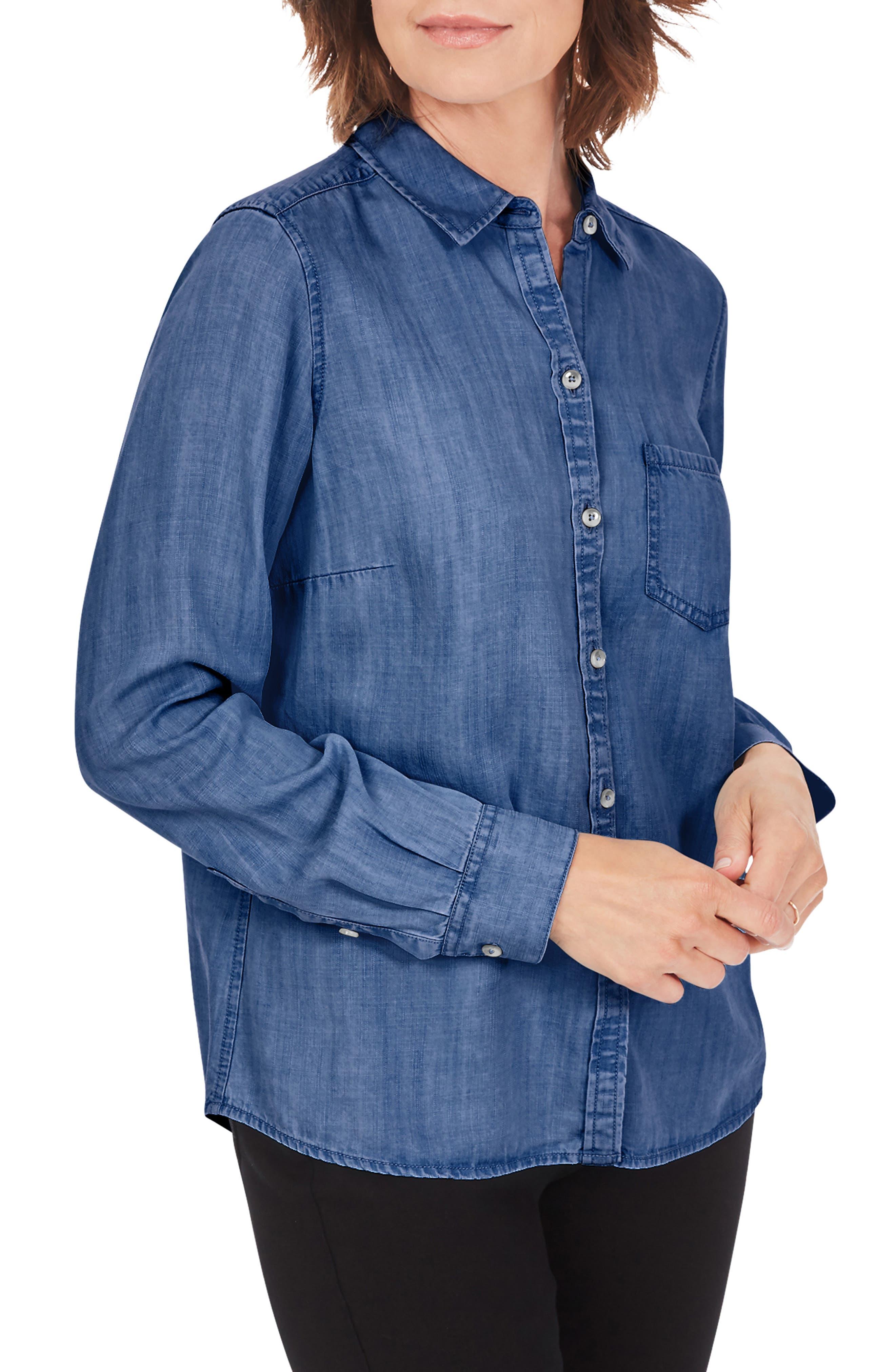 The Hampton Chambray Button-Up Shirt
