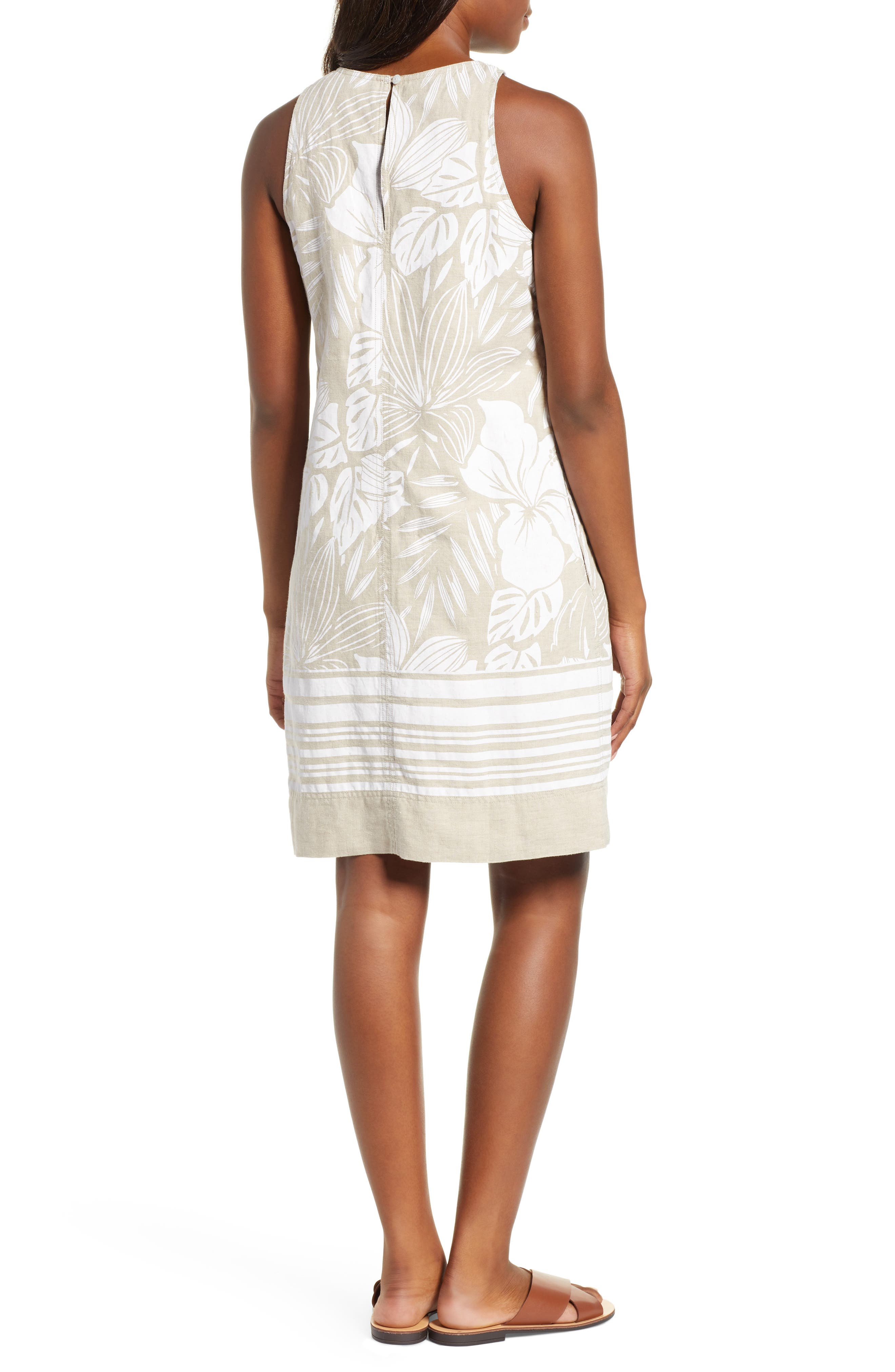 ,                             Mahana Linen Shift Dress,                             Alternate thumbnail 2, color,                             NATURAL LINEN