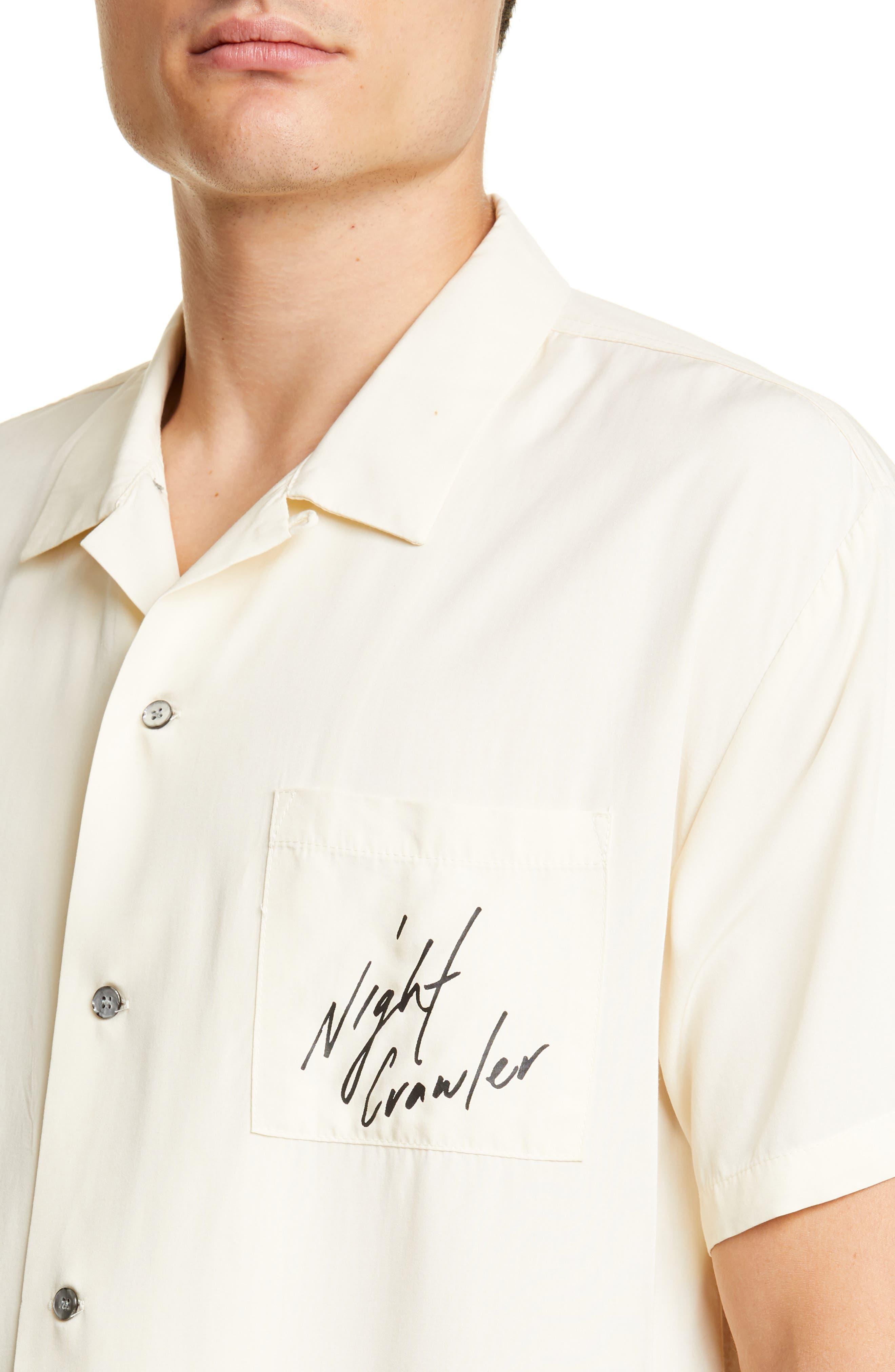,                             White Tiger Camp Shirt,                             Alternate thumbnail 2, color,                             WHITE
