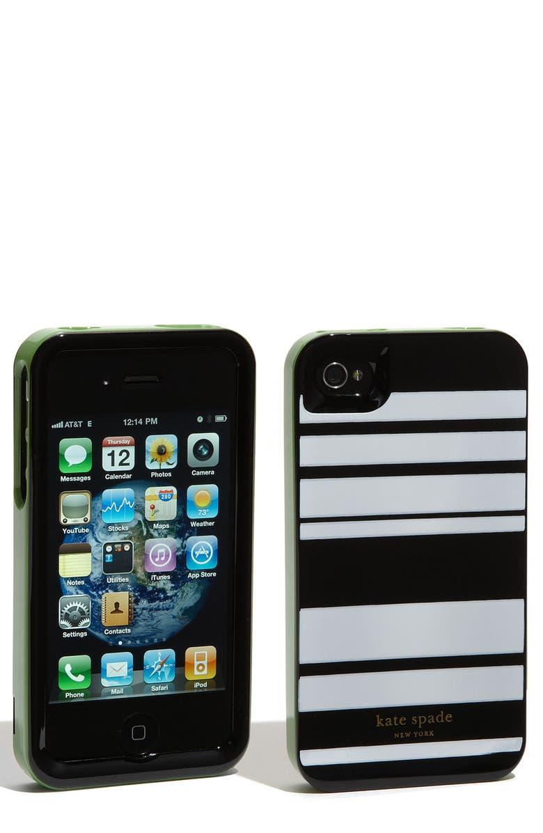 KATE SPADE NEW YORK rigid iPhone 4 & 4S case, Main, color, 001
