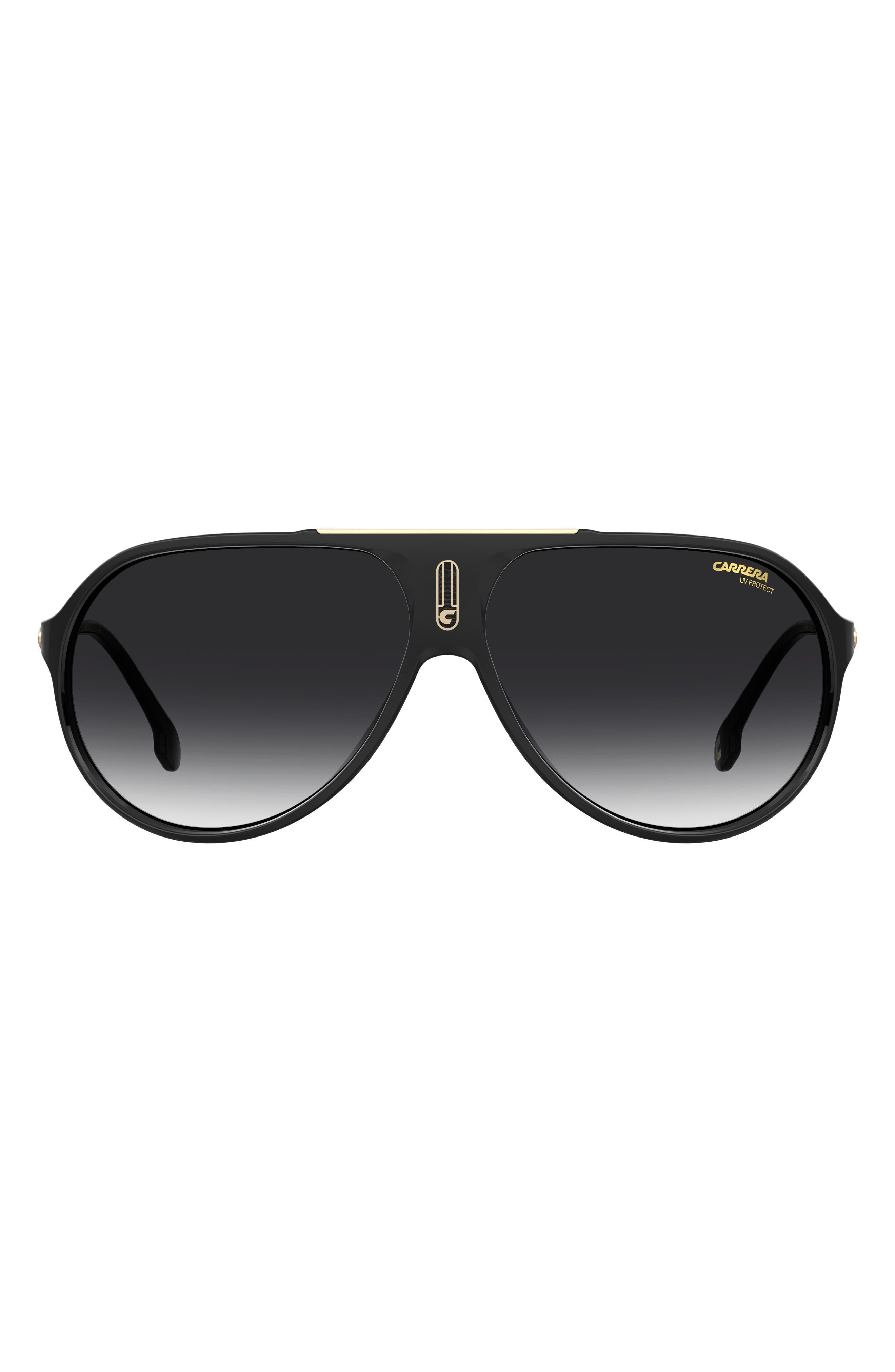 Hot65 63mm Polarized Aviator Sunglasses