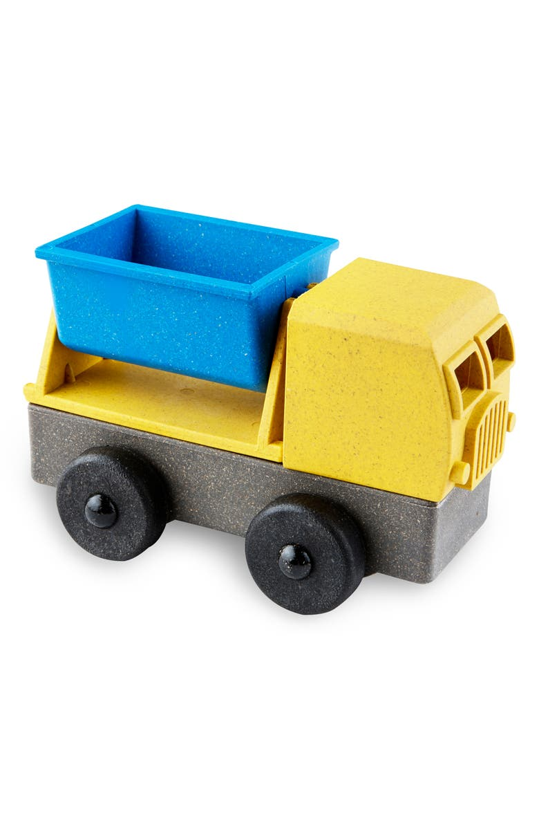 LUKE'S TOY FACTORY Educational 4-Piece Puzzle Tipper Truck Toy, Main, color, 700