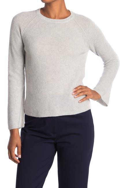 Image of Kinross Stitch Cashmere Crew Neck Sweater