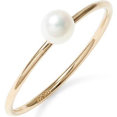 Marida Oeuf Pearl Ring