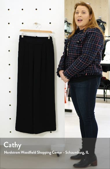 Crepe Wide Leg Pants, sales video thumbnail