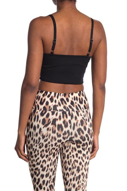 Image of MATERIAL GIRL Knit Bandeau Top w/ Straps
