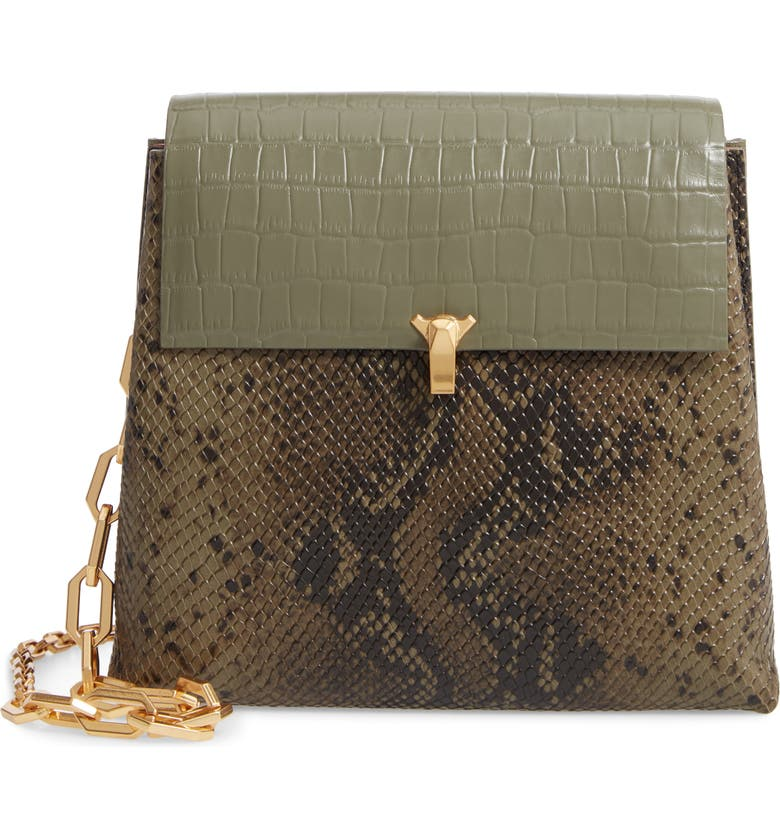 THE VOLON PO Day Embossed Leather Box Bag, Main, color, 300