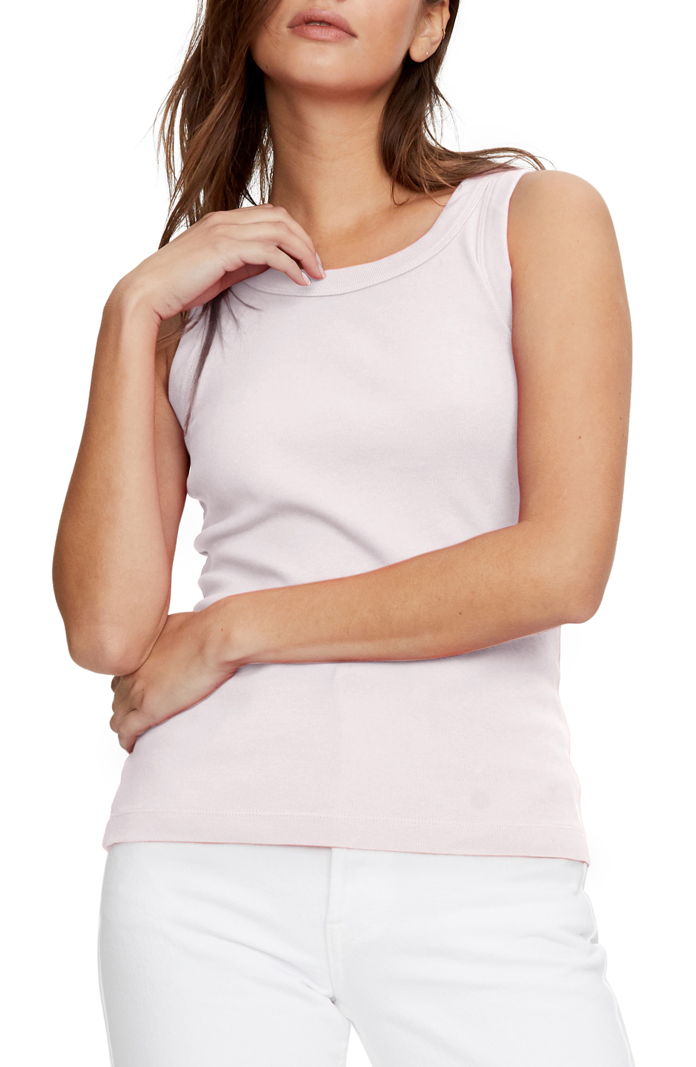 Start off your summery looks with a staple tank top done in a soft cotton knit. Style Name: Michael Stars Paloma Cotton Tank Top. Style Number: 6050766 1. Available in stores.