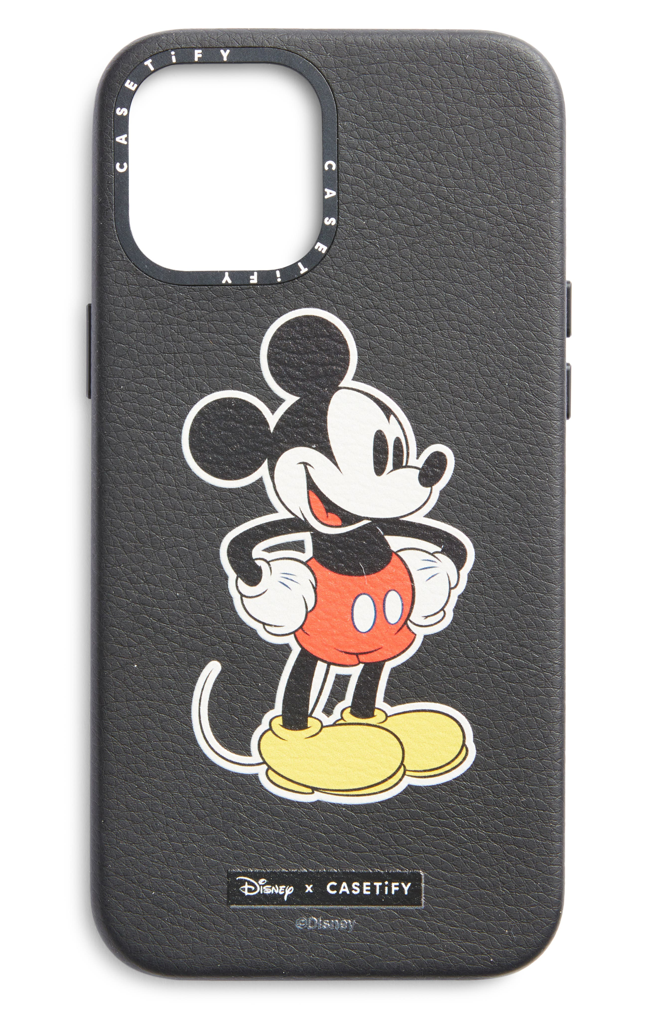 Biodegradable Leather Mickey Iphone Case