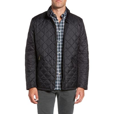 Barbour Flyweight Chelsea Quilted Jacket, Black
