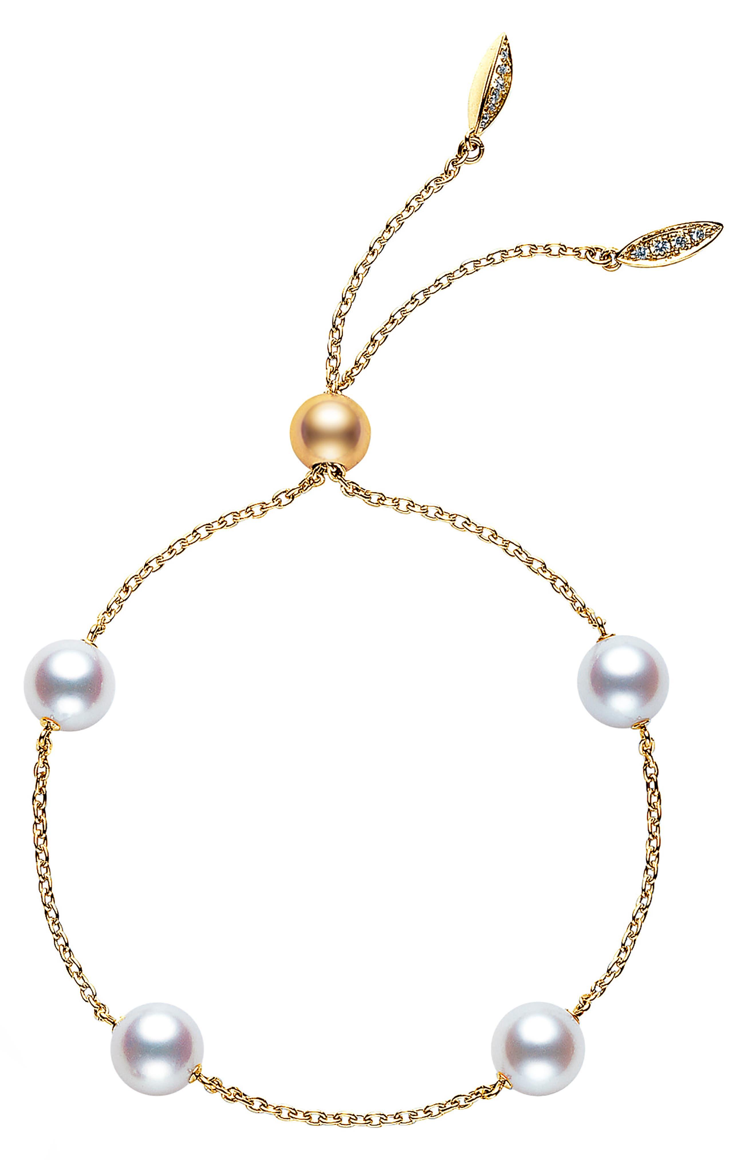 Japan Collections Pearl Slide Bracelet