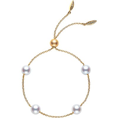 Mikimoto Japan Collections Pearl Slide Bracelet